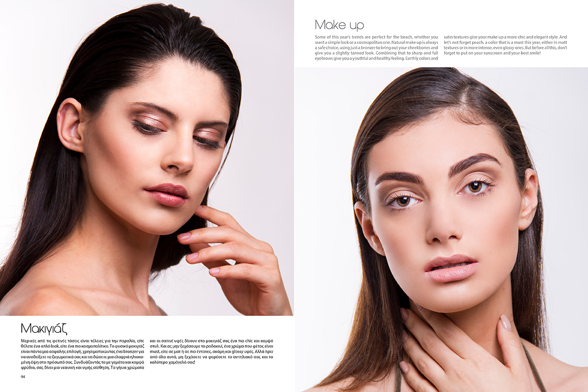 Beauty article for Friends Magazine